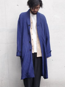 VOAAOV // linen rayon big coat