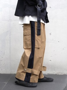 my beautiful landlet // ripstop wide cargo pants