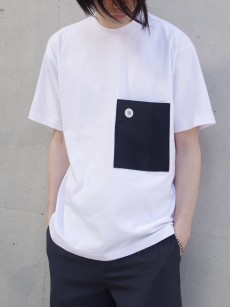 soe // H/S Tee with Pocket