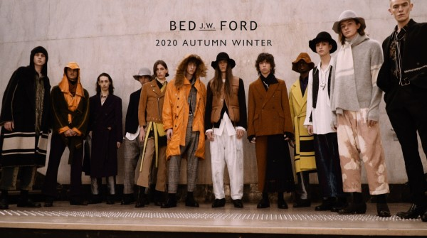 BED J.W FORD 2020 AUTUMN WINTER START!!