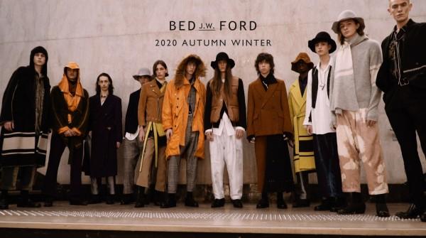 BED J.W FORD 2020 AUTUMN WINTER START!!