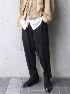 BED j.w. FORD // Two Tucks Stripe Pants