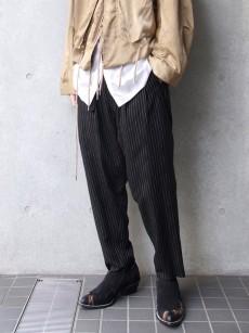 BED j.w. FORD // Two Tucks Stripe Pants