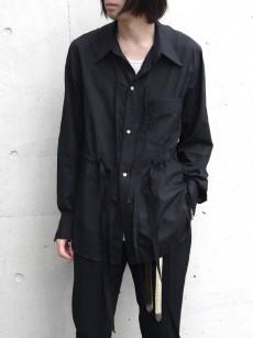 BED J.W. FORD // Cotton Silk Ribbon Shirt