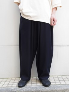 my beautiful landlet // cotton nylon wide easy pants
