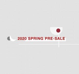 2020 SPRING PRE-SALE スタート!!