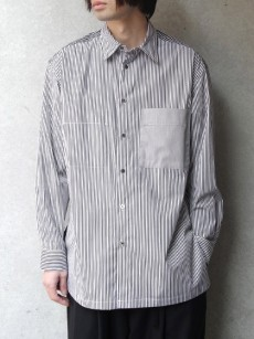 wizzard // COMBINATION STRIPE SHIRT