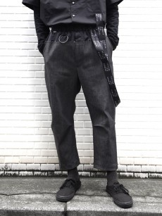 JUVENILE HALL ROLLCALL // BELTED TAPERED PANTS
