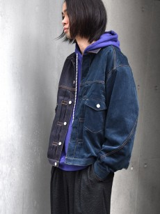 JieDa // SWITCHING DENIM JACKET