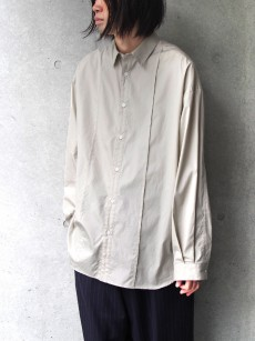 JUHA // PIN TUCK OVER SHIRT