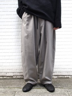my beautiful landlet // DOUBLE CLOTH WIDE EASY PANTS