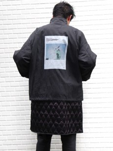 ALMOSTBLACK // LAYERED BLOUSON graphic by PETER DE POTTER
