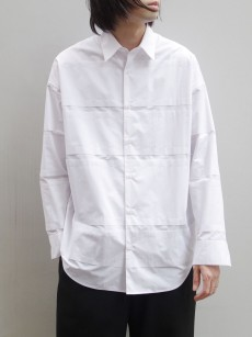 ALMOSTBLACK // DOUBLE CLOTH SHIRT