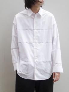 ALMOSTBLACK // DOUBLE CLOTH SHIRT