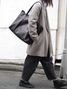 PATRICK STEPHAN // Leather tote bag 'grande poche' 2