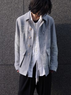 BED J.W. FORD // Inner blouson feather pattern