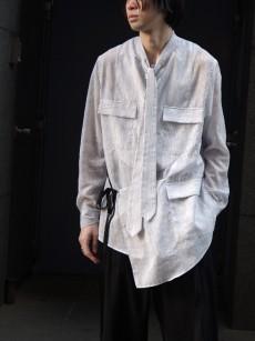 BED J.W. FORD // Apron stripe blouse