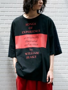 LEH // BIG SIZE T-SHIRT -songs of experience-
